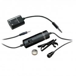 Audio-Technica Micrófono lavalier de condensador omnidireccional